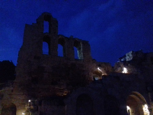 A night view of Herodion