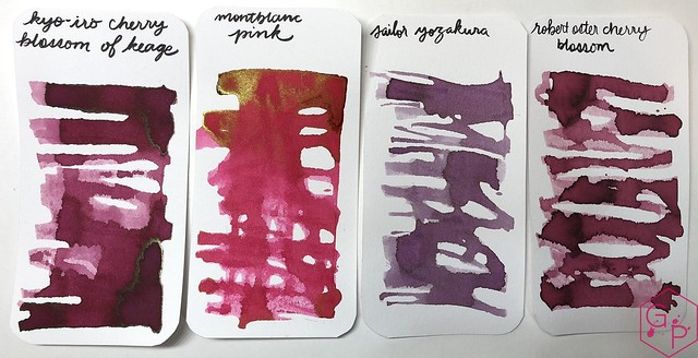 Kyo-Iro Cherry Blossoms of Keage Ink Review @PhidonPens 4