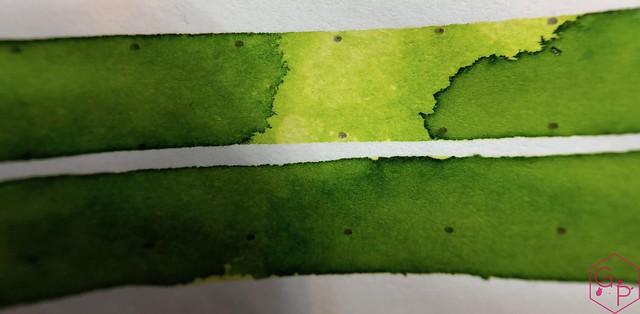 @RobertOsterInk Lime Juice Ink Review @MilligramStore 15