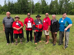 AWAPTC 2018 Naming Circle at Centennial Park, 2870 - 7th. Line, Innisfil, Ontario
