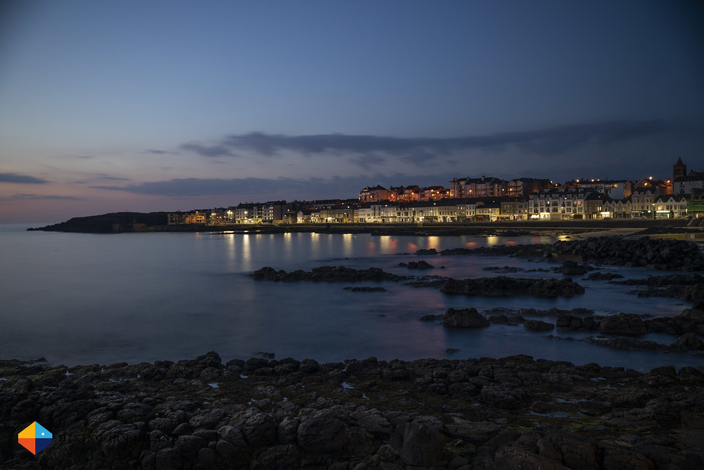 Portstewart Promenade at night