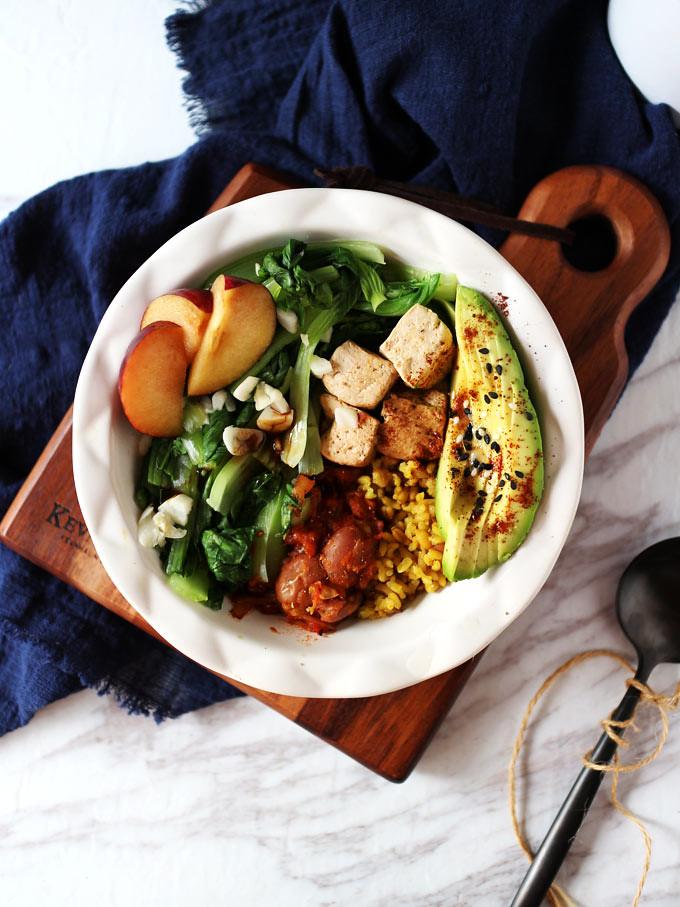 簡易素食羅漢齋 vegan-easy-buddha-bowl (1)