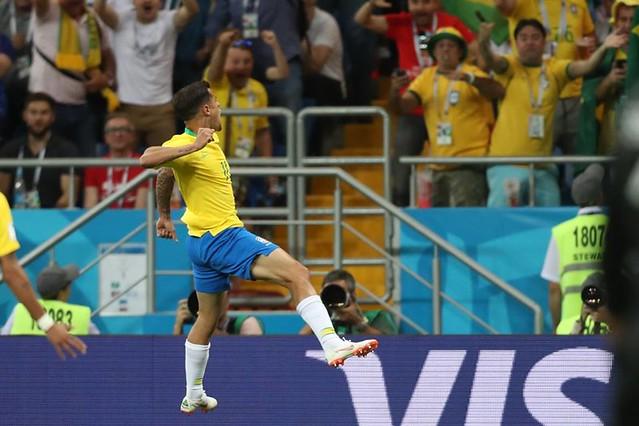 Em Rostov, Brasil empata com a Suíça por 1 a 1 na estreia da Copa do Mundo
