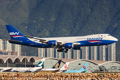 Silkway West Airlines B747-8F VQ-BWY 001