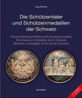 Die Schützentaler und Schützenmedaillen der Schweiz book cover