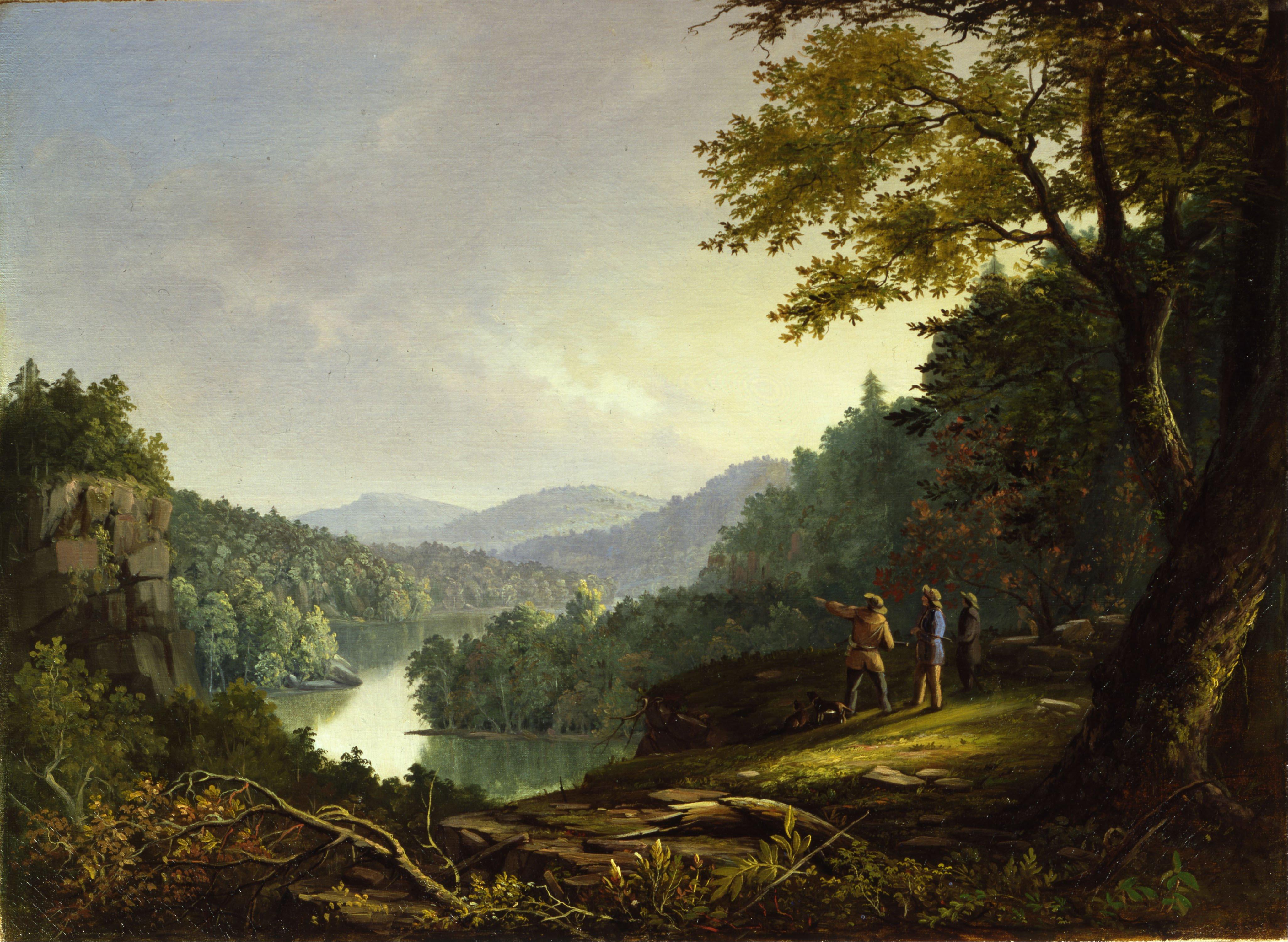 James Pierce Barton Kentucky Landscape, 1832. Currently at Cincinnati Museum Center at Union Terminal.