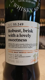 SMWS 53.249 - Robust, brisk with a lovely sweetness