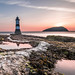 Trwyn Du Lighthouse on Penmon Point by Nathan J Hammonds