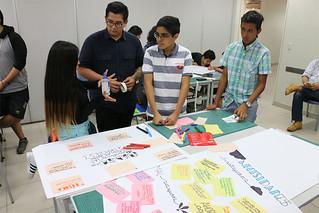 Veinte docentes de la Carrera de Arte y Diseño Empresarial de la Universidad San Ignacio de Loyola, diseñaron y dictaron 4 talleres a más de 100 emprendimientos que conforman el programa La Compañía 2.0 de Junior Achievement Perú este 2018