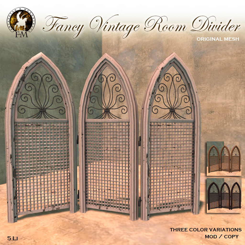 F&M * Fancy Vintage Room Divider