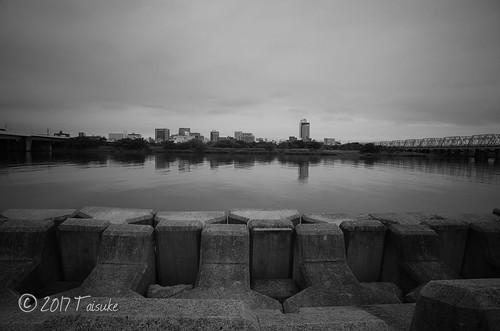 GR2作例:淀川河川敷にて
