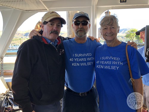 Ken Wilsey's 40th Anniversary on the Lady of the Lake
