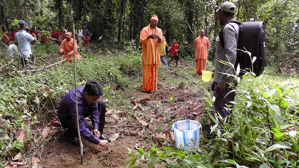 Tree Plantation on World Environment Day, Narottam Nagar, 2018