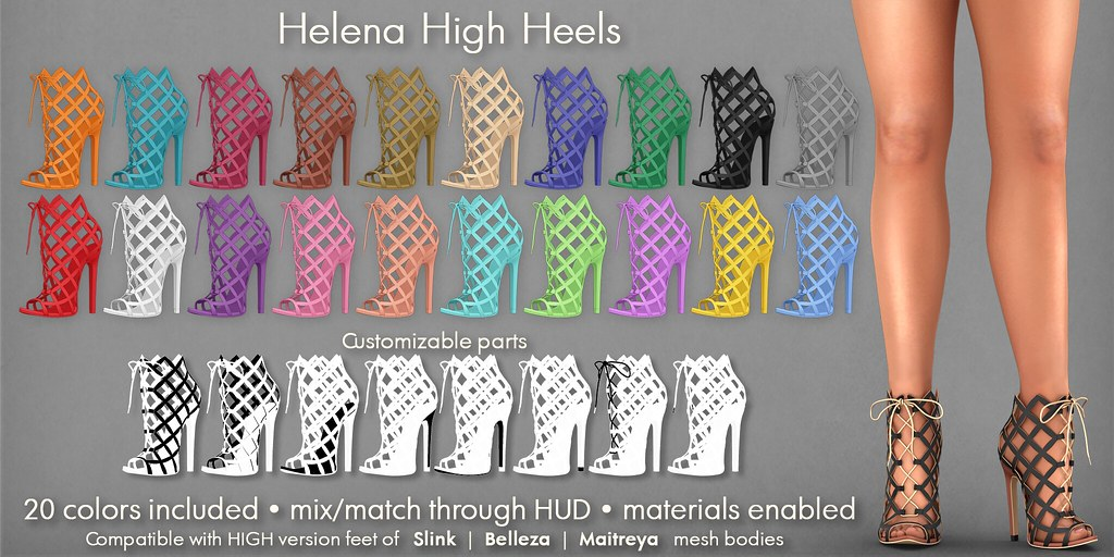 Mutresse@C88 June 2018 – Helena High Heels Info