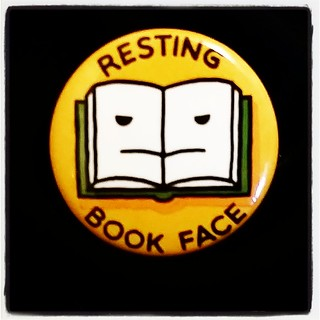 Resting Book Face