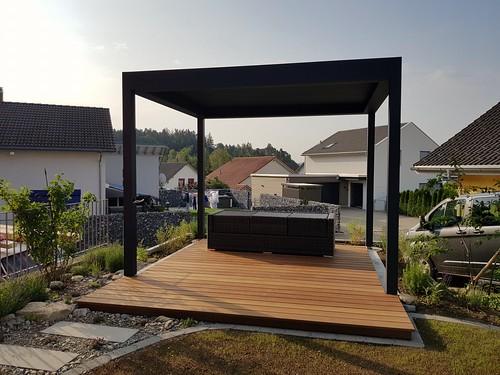 #pergola #lamellendach #terrassenüberdachung #outtec #b200xl #sonnenschutz #sunprotect #bioclimatic #bioklimatikpergola #beschattungssysteme #garden #outdoor #outdoorliving #terrassengestaltung