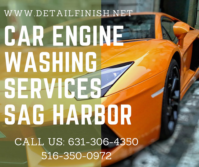 Car Engine Washing Services Sag Harbor