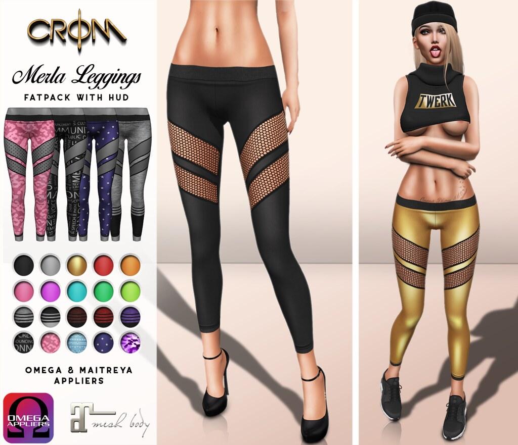 -CroM- PROMO:  Leggings Fatpack 75 L
