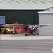 G-BZHU Hoffman Wag-Aero Sport Trainer Cuby, Teddy Boys Flying Club, Gloucestershire Airport, Staverton, Gloucestershire