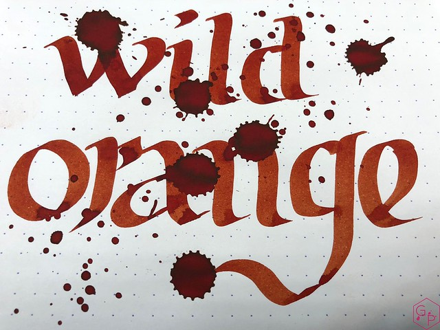 Blackstone Wild Orange Ink Review @Appelboom 11