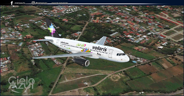 Volaris Costa Rica (N501VL, N503VL & N504VL) V1.3