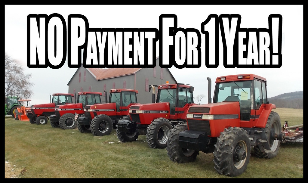 Used John Deere and Case IH Tractor For Sale