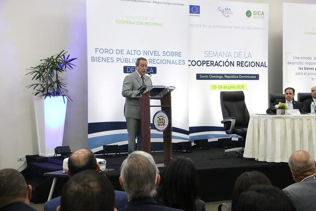 Semana de la Cooperación Regional del SICA en República Dominicana