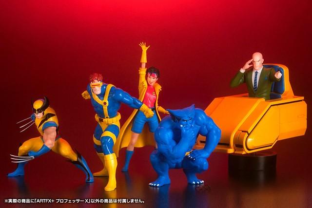 再現心靈感應的經典姿態!! 壽屋 ARTFX+ 系列 Marvel Universe【X 教授】Professor X