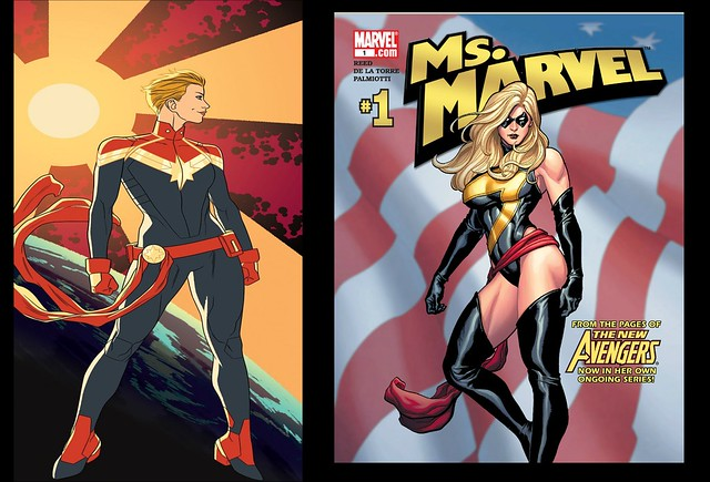 Captain Marvel vs Ms Marvel