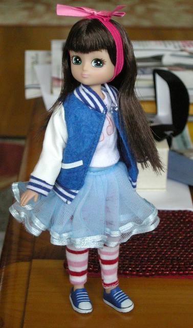 Lottie in stripes