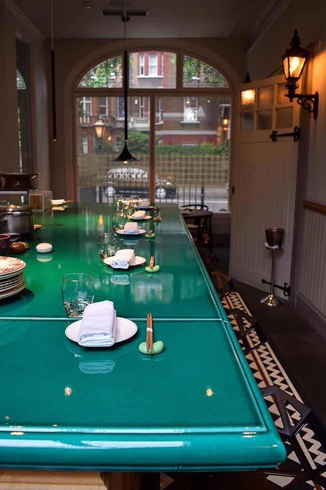 Sushi Bar at Yashin Ocean House, Kensington #sushi #london #kensington
