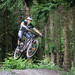 MIJ Downhill practise event at Cannop Cycle Centre. Pedalabikeaway, Forest of Dean Gloucestershire.