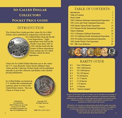 Pacific Coast Expo So-Called Dollar Guide sample pages2