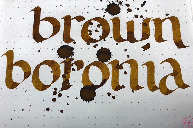 Blackstone Brown Boronia Ink Review @AppelboomLaren 10