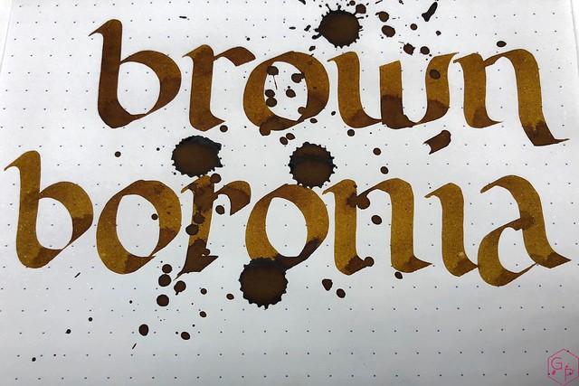 Blackstone Brown Boronia Ink Review @AppelboomLaren 10