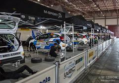 WRC Portugal: Service Park