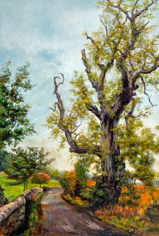 Dryburgh Ancient. Artist Jan Clizer