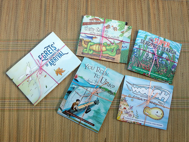 Children's books by students of the Raffles Ecological Literacy Programme
