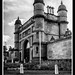 Wollaton Hall Gatehouse SEP Kodak 32 Panatomic X
