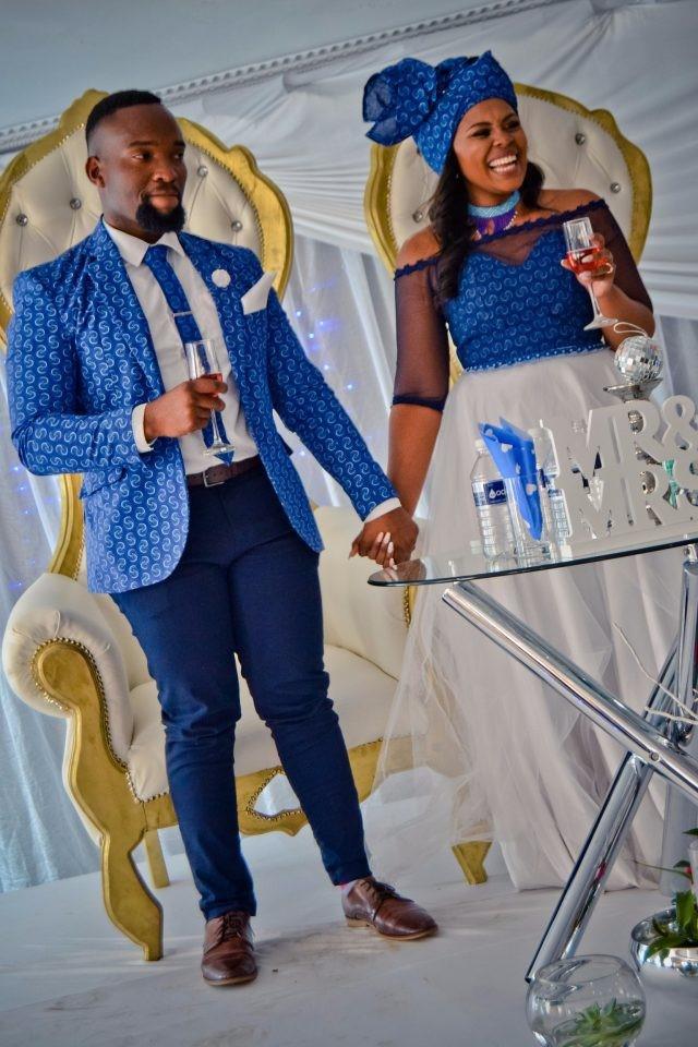 Shweshwe Wedding Dresses South Africa 2018 Styles 7
