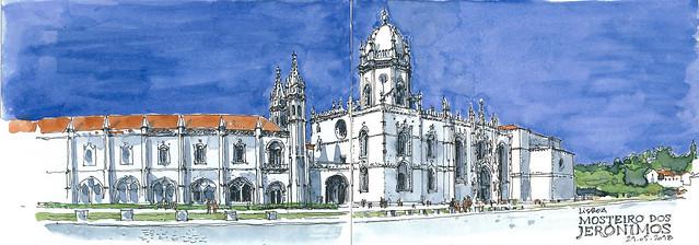 sketch_LISBON_Mosteiro dos Jeronimos_180521_300dpi