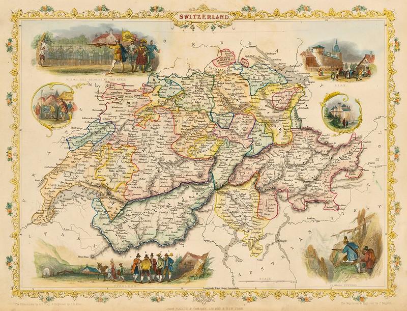 John Tallis - Switzerland (1851)