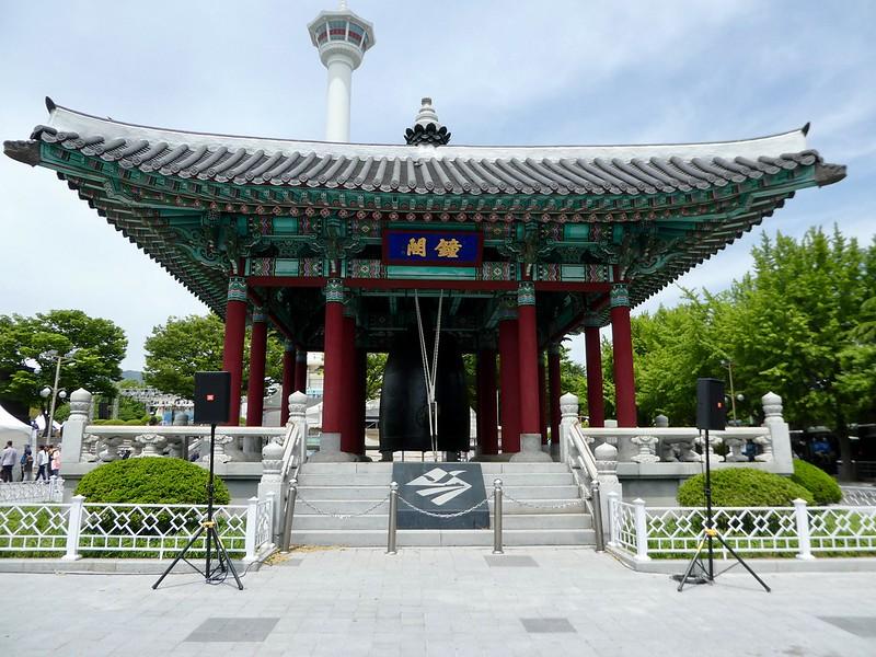 Bell Tower, Yongdusan Park, Busan
