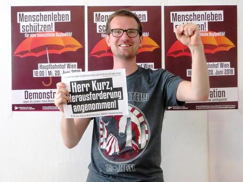 Herr Kurz, Herausforderung angenommen!