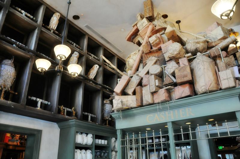 Universal Studios Owl Post Interior @ Mt. Hope Chronicles