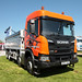 Scania UK G450 Tipper Demonstrator UK UK07SGB Peterborough Truckfest 2018