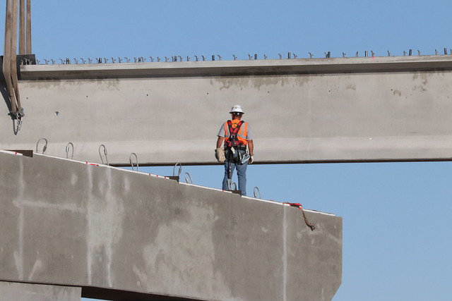 I-10/SR 87 Improvements: Girder Installation (June 2018)