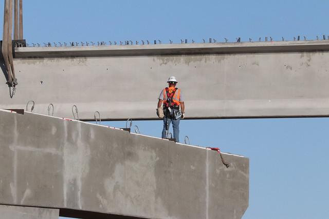 I-10/SR 87 Improvements: Girder Installation (June 2018)