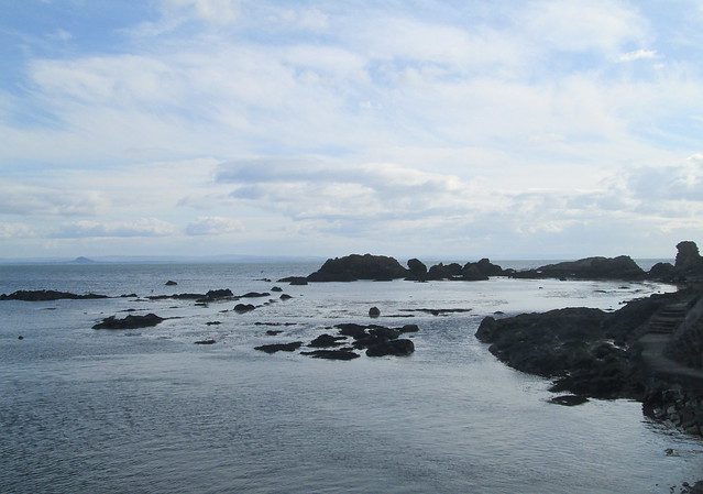 Rocks at St Monans, Fife