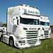 Jamie Key Scania R580 JK66KEY Peterborough Truckfest 2018